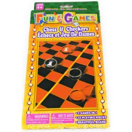 72 of Chess & Checkers Portable Travel Set