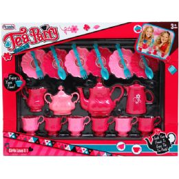 12 of Tea Party Play Set In Window Box