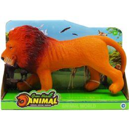 """36 of 11"""" 6 Assrt Wild Toy Animals W/ Sound In Open Box"""