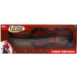 24 of Violin Play Set With Bow In Window Box
