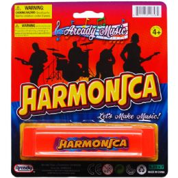 144 of Harmonica Play Set On Blister Card