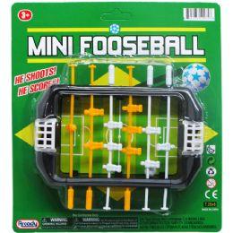 72 of Mini Fooseball Play Set On Blister Card