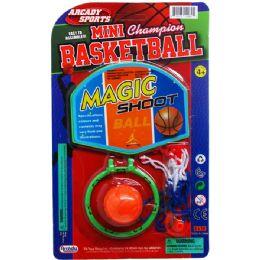 48 of Table Mini Basketball Game Set On Blister Card