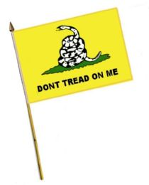 60 of Dont Tread On Me Stick Flags