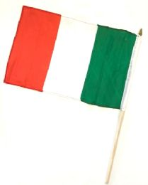 60 of Italy Stick Flags