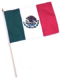 60 of Mexico Stick Flags