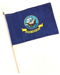 60 of Hnf 18. Military Navy Stick Flags