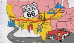 12 of 3' X 5' Polyester Flag, Historic Route 66, With Grommets