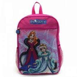 """24 of 15"""" Character Backpacks In A MultI-Color Snow Qeen Print"""