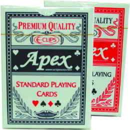 60 of Standard Playing Cards - Plastic Coated