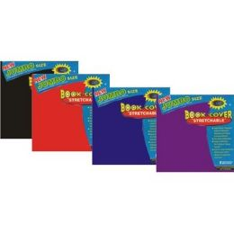 60 of Jumbo Book Cover - StrecthablE-Assorted Colors