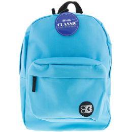 "12 of 17"" Cyan Classic Backpack"