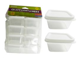 48 of Craft Square Container 8 Pack