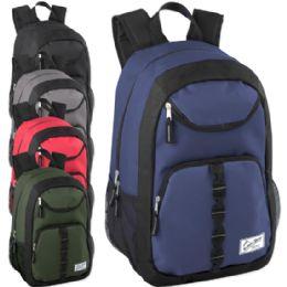 24 of Urban Sport 18 Inch U Pocket Backpack - Boy Colors