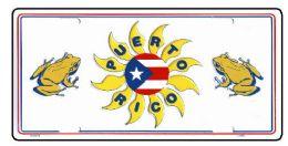 "24 of ""puerto Rico"" Metal License Plate"