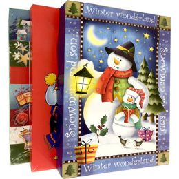 """48 of Xmas Gift Boxes - 3 Pack - 14.25"""" X 9"""" X 2"""""""
