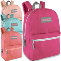 24 of Trailmaker Classic 17 Inch Backpack - In 4 Colors Girl Colors