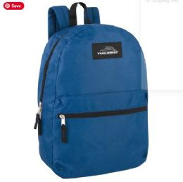 24 of Trailmaker 17 Inch Backpack - Navy Blue