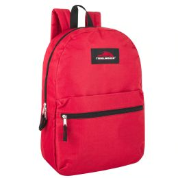 24 of Trailmaker Classic 17 Inch Backpack In Red Only