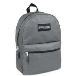 24 of Trailmaker Classic 17 Inch Backpack In Grey Only