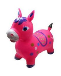 24 of Inflatable Jumping Pink Horse Without Light And Sound
