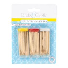 48 of 3 Pack Toothpick Holder