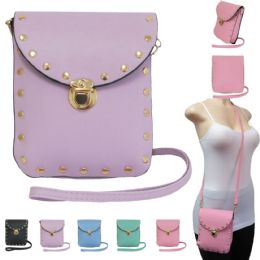 """36 of 7"""" Crossbody Bags With/ Studs Embellishments"""