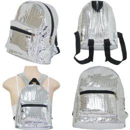 "18 of 10"" Mini Backpacks - Metallic Prints"