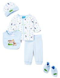 "24 of Newborn Boy's ""jungle Friends"" Set - Animal Prints - Sizes 0-9m"