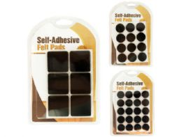72 of SelF-Adhesive Felt Floor Protector Pads