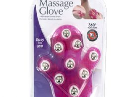 12 of Massage Glove With Rotating Steel Balls
