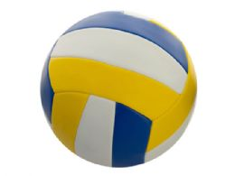 6 of Size 5 Yellow & Blue Volleyball