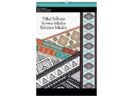 48 of Tribal Patterns Large Coloring Pad