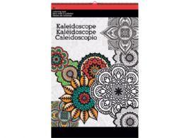 36 of Kaleidoscope Large Coloring Pad