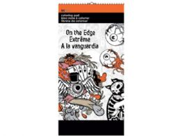 72 of On The Edge Small Coloring Pad