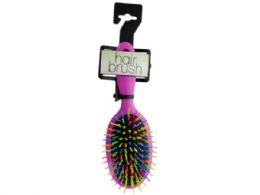 36 of Rainbow Oval Paddle Hair Brush