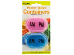 72 of Am/pm Pocket Tablet Containers Set