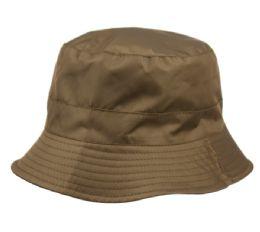 12 of Waterproof Packable Rain Bucket Hats With Zipper Closure In Dark Olive