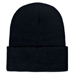 36 of Yacht & Smith Unisex Winter Warm Beanie Hats In Solid Black