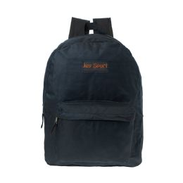 """36 of 15"""" Inch Kids Classic Backpack In Black"""