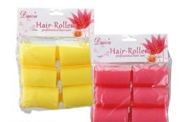100 of Professional Hair Rollers 6 Piece
