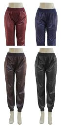 24 of Women's Faux Leather Jogger Pants
