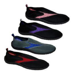 36 of Women's Assorted Colors Aqua Shoes