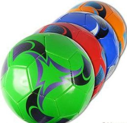 10 of Official Size Swirly Soccer Balls