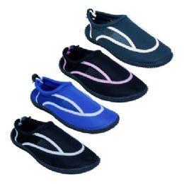 36 of Ladies Aqua Socks In Assorted Colors