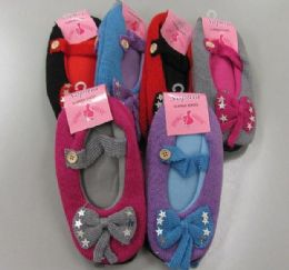 72 of Ladies Slipper Socks With Bow
