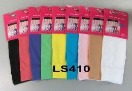 120 of Womens Trouser Socks Size 9-11 Nylon Stretch Knee Socks, White