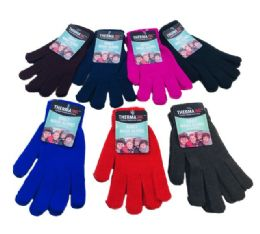 72 of Adult Magic Gloves Assorted Colors