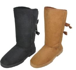 18 of Ladies Tall Winter Boot In Tan And Black