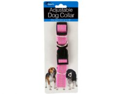 72 of Fashion Pink Adjustable Nylon Dog Collar